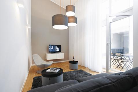 iPartment Köln, Apartmenthaus Porz. Interior Design: Bergner Meijerink, Fotografie: Studio Fünf6
