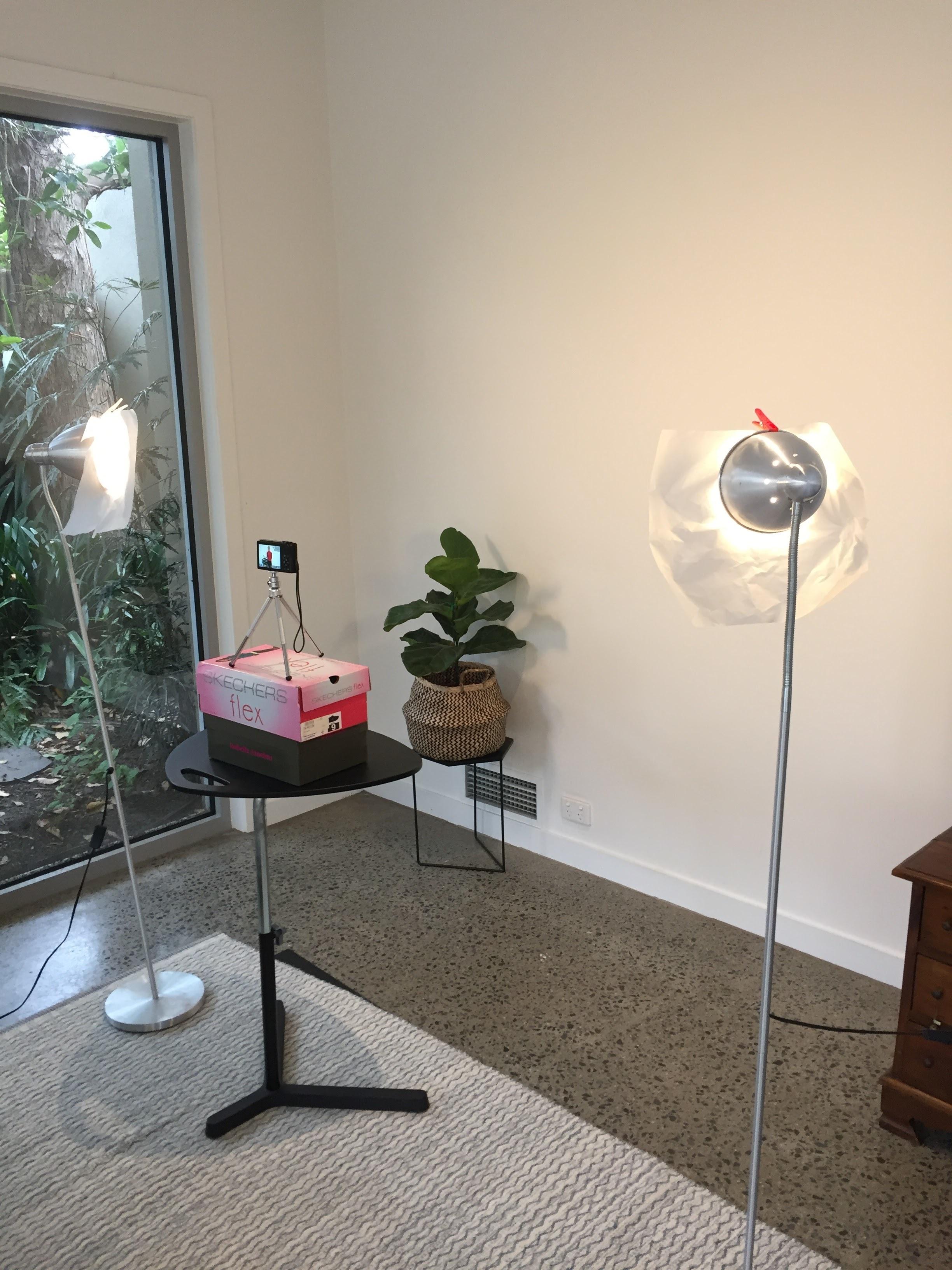 DIY lighting for photography