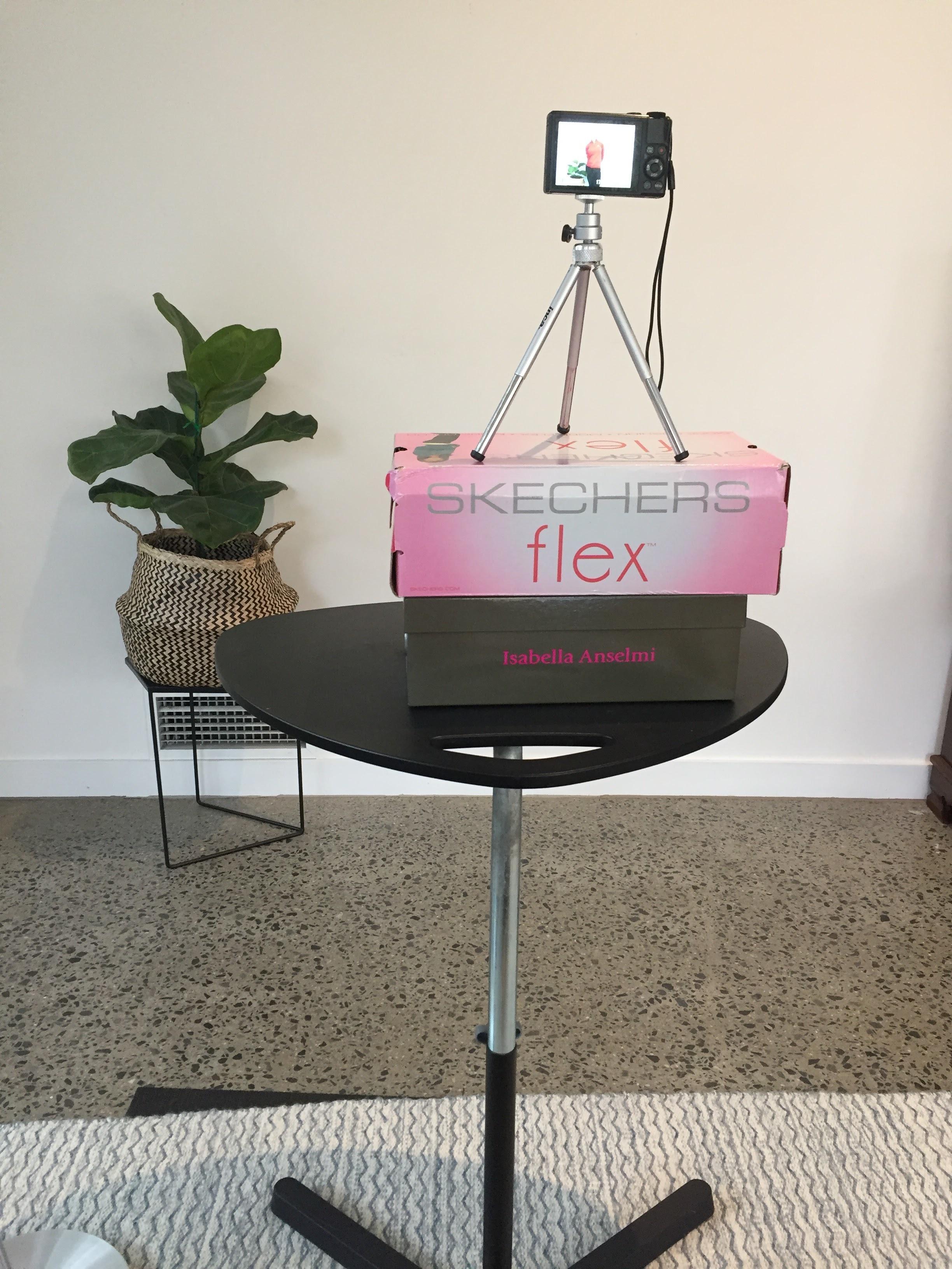 DIY camera setup for modelling