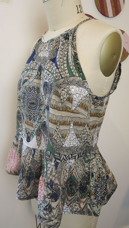 The Gypsy Swing Top by Sew This Pattern
