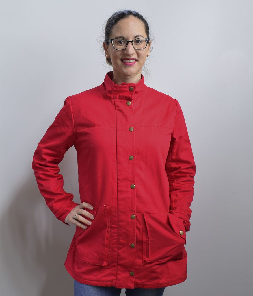 Kelly Anorak by Closet Case Patterns