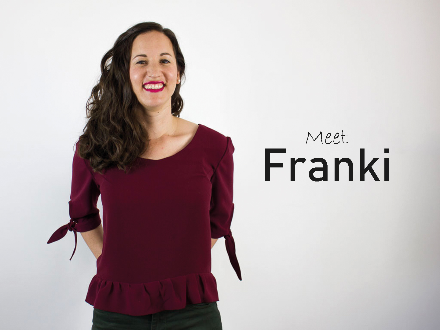 Franki Top by The Wearable Studio