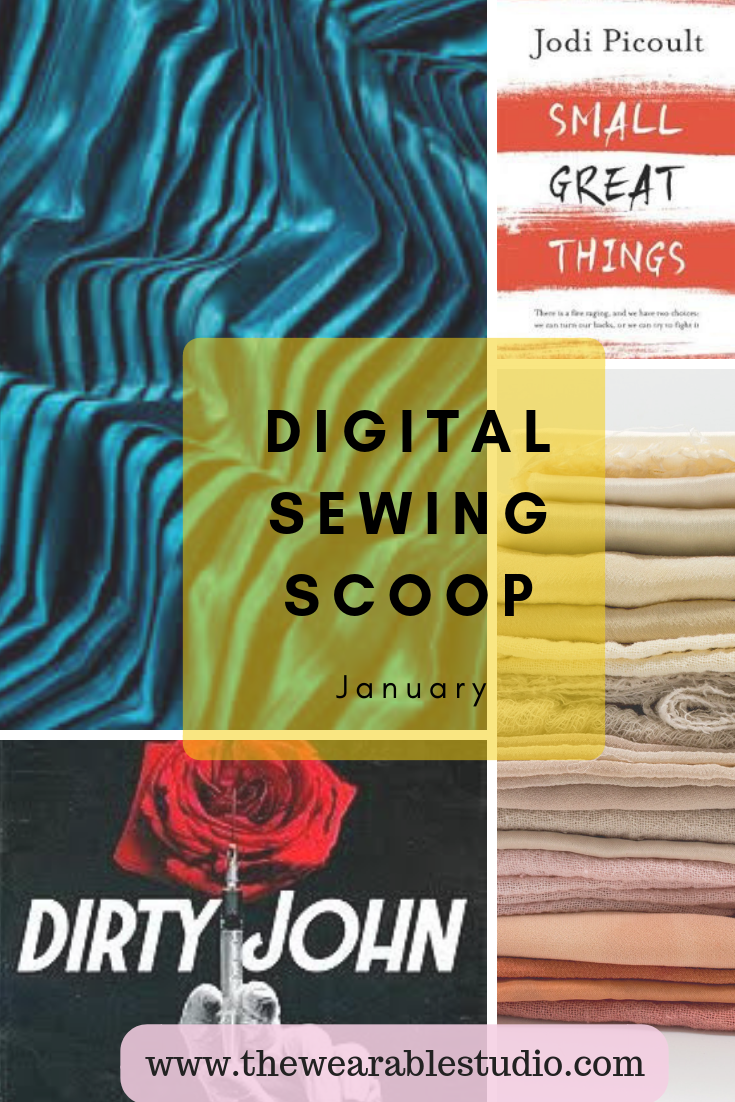Get the Scoop… - Sign up with your email in the side bar to read about our favourite sewing topics every month.
