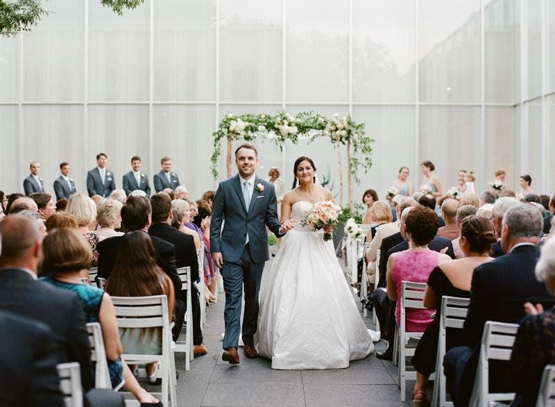 NC Museum of Art Wedding