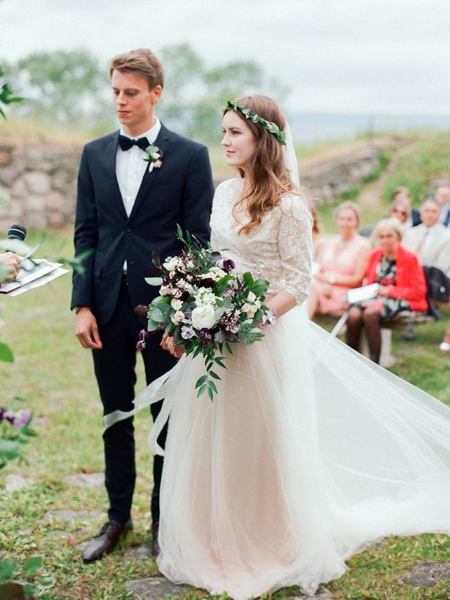 Image result for flower crown swedish wedding