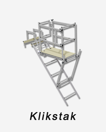 Klikstak, chimney scaffolding, access systems, mk tower services