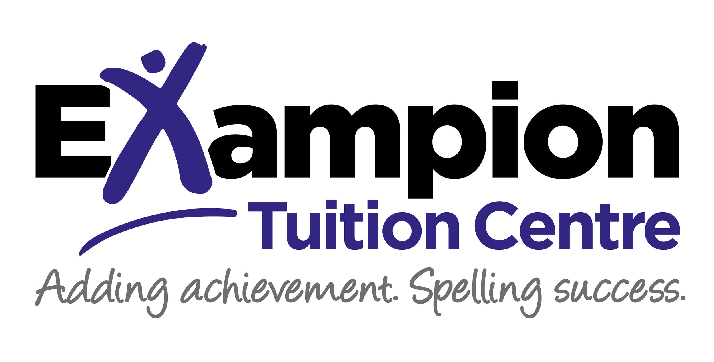 The new logo incorporates a jubilant 'X' character to represent the joy of achievement and positivity that Exampion aims to build in its students.