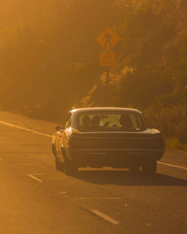 Long drives to the beach with your sweet Georgia peach. #Malibu #pacificcoasthighway