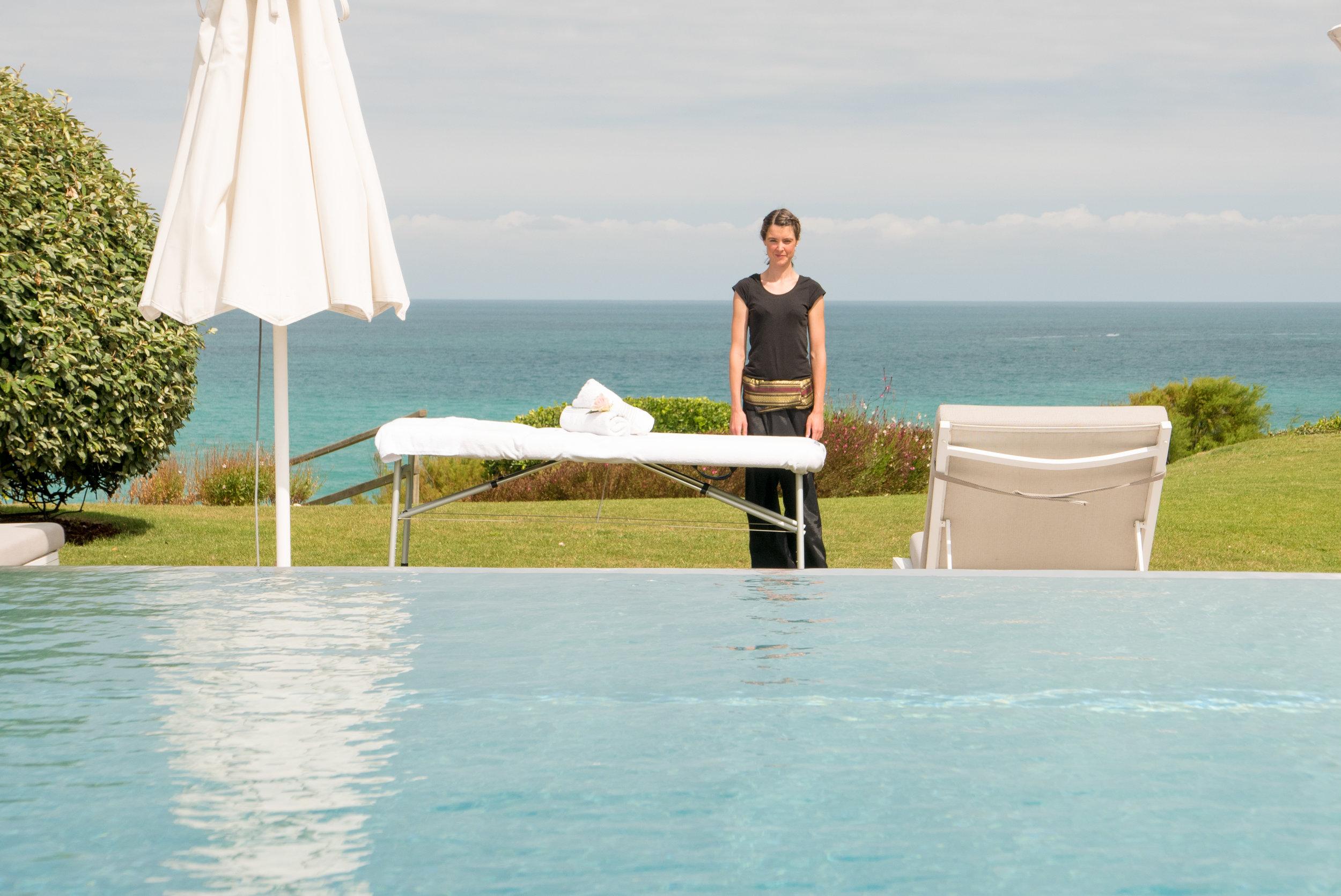 Massages à domicile haut de gamme à Biarritz, Anglet, Bayonne,Bidart de Bihaimssages