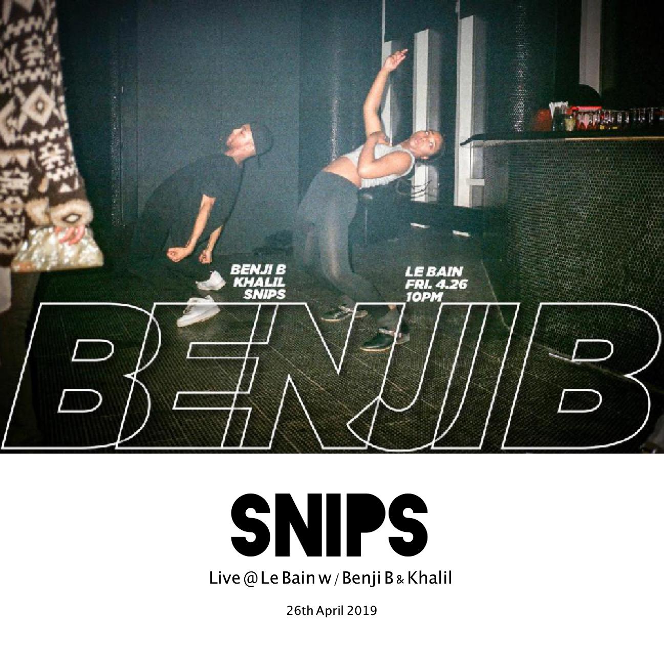 Live @ Le Bain NYC w/ Benji B & Khalil