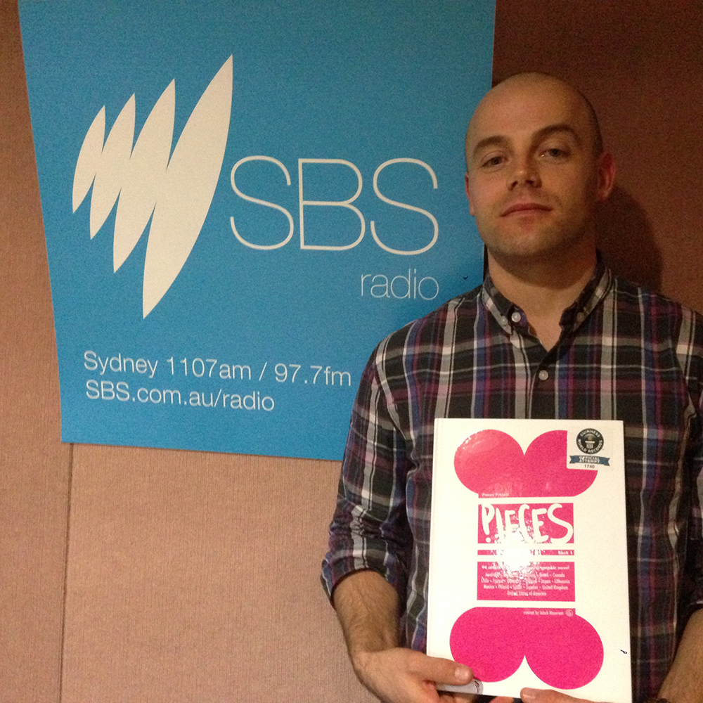 The founder of the Pieces Project - Jakub Mazerant SBS Radio, Sydney, Australia