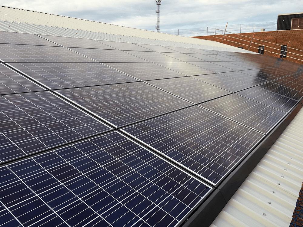 Solar Panel Installation -