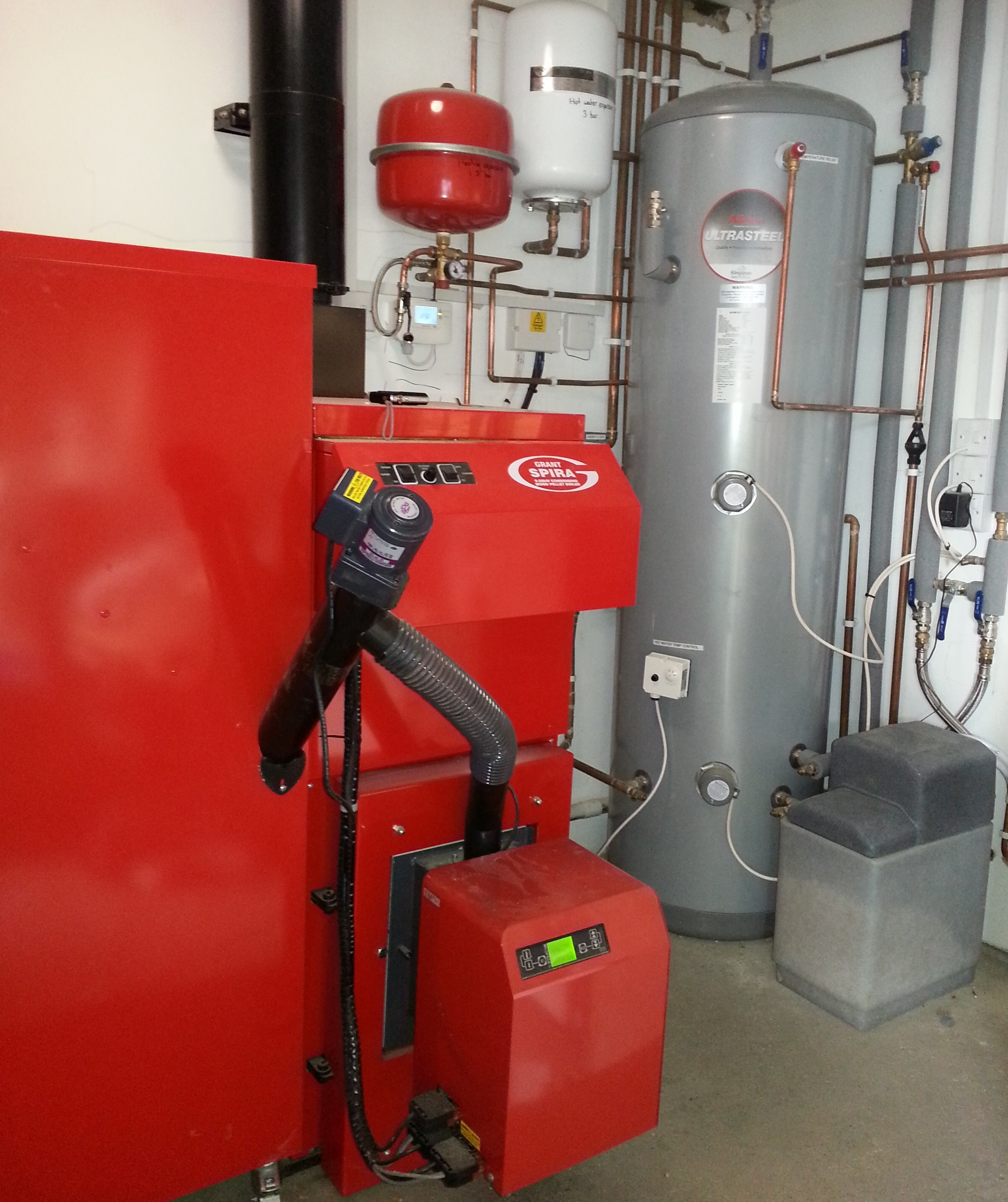 Grant Biomass Install