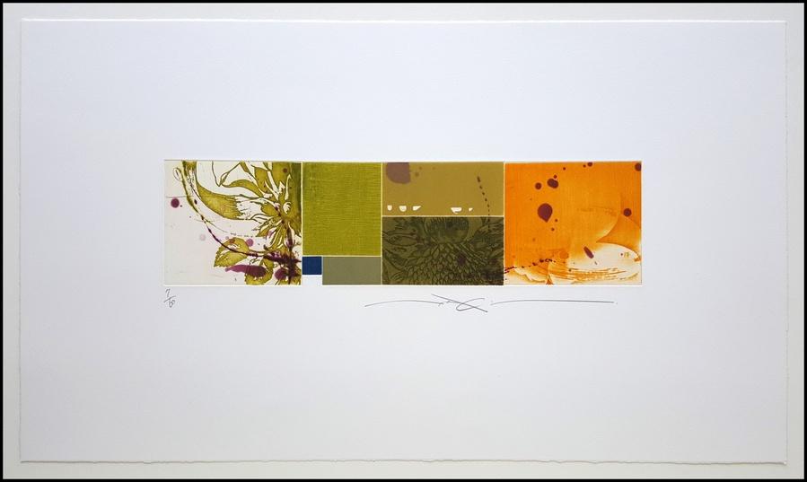 Araki Shinko Flower Pieces XVI, 2015 Color Aquatint