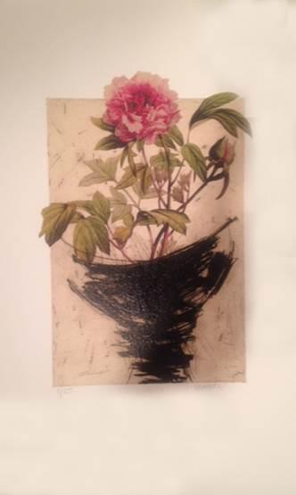 Manolo Valdes Bouquet 1, 2012 Digital print