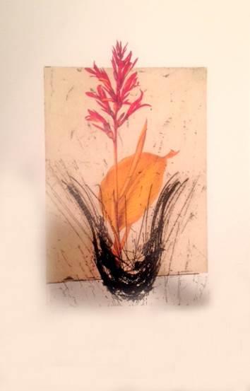 Manolo Valdes Bouquet 2, 2012 Digital print