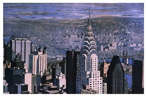 Michael Arike Chrysler and Beyond, 2001 Aquatint print on cotton rag