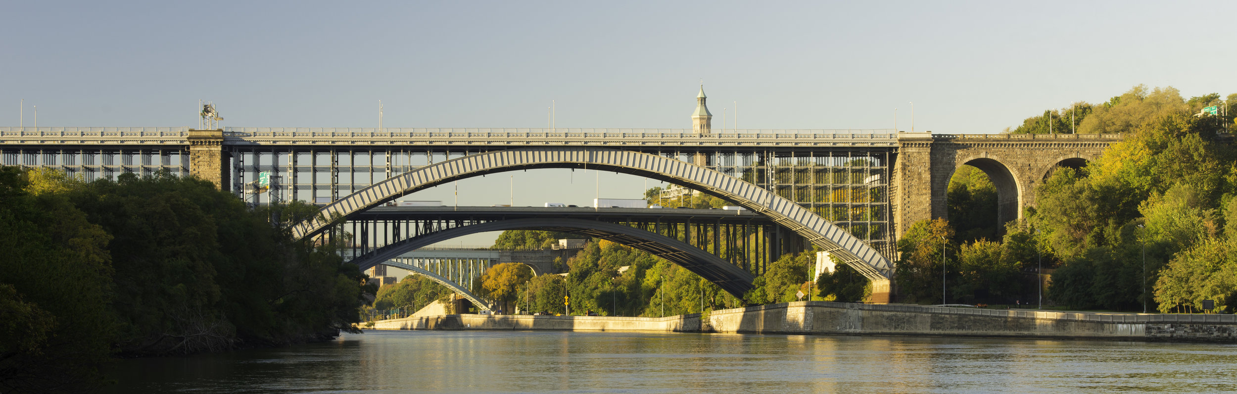 Duane Bailey-Castro Henry Hudson Bridge, 2016 Dibond plexiglass print