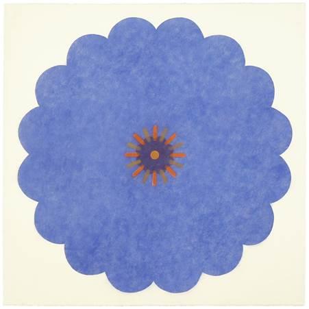Mary Judge Maple Edition 1 (Pop Flower 3), 2017 Digital print on paper