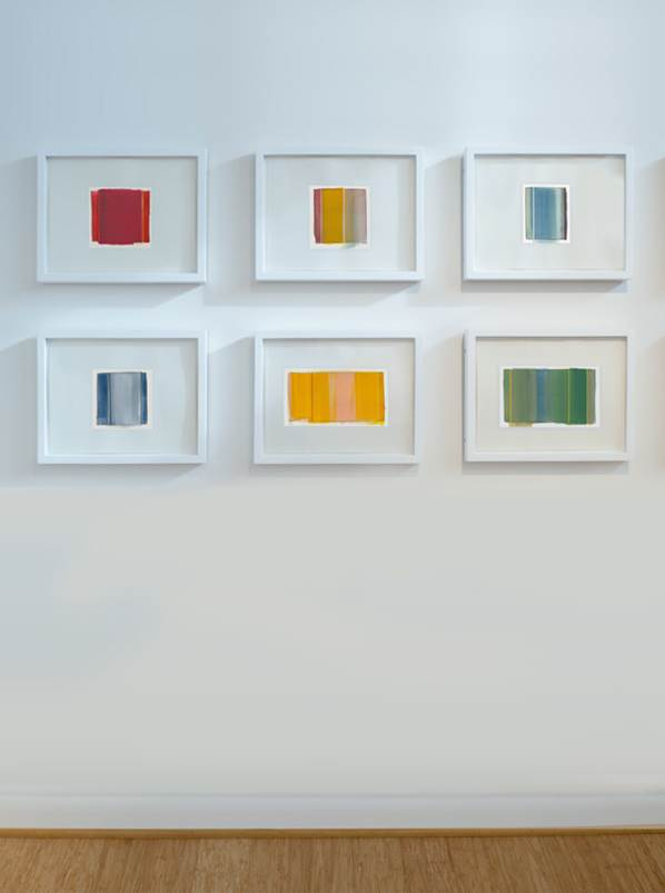 Matthew Langley A Painting a Day Series, 2015 Acrylic on museum board