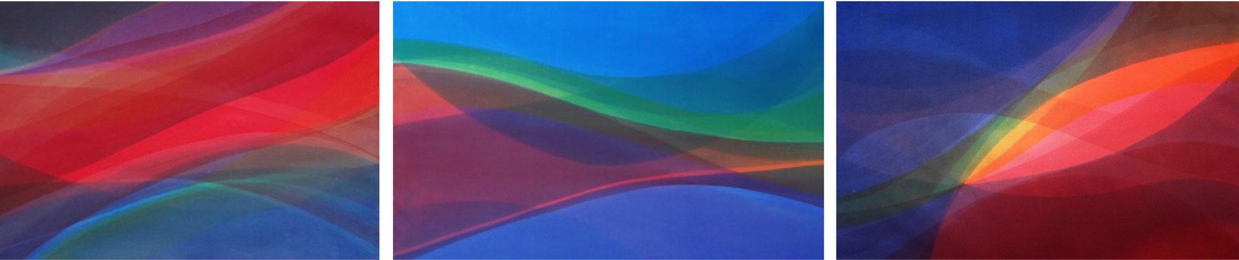 Paul Thomas Serene Path, 2012 Acrylic on canvas