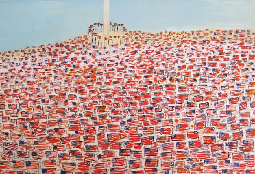 Maira Kalman 2 Million People, 2011 Inkjet print