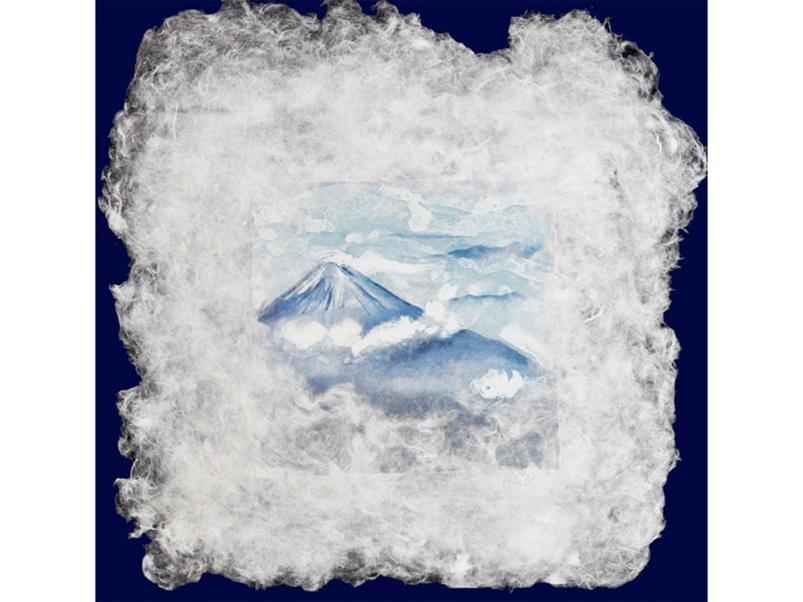 Sarah Brayer Sea of Clouds, 2016 Aquatint on handmade Japanese paper