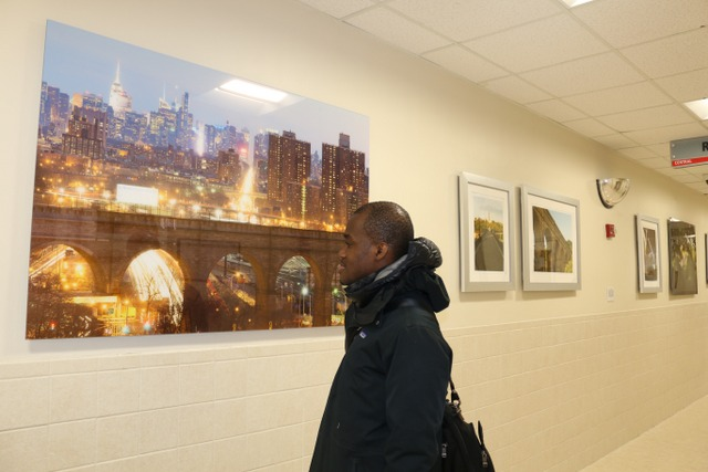 Image from our ARTViews Gallery exhibition:  Connecting People, Strengthening Communities: The Harlem River Bridges  by Duane Bailey-Castro 2015