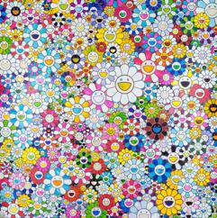 Takashi Murakami Shangri-la, 2017 Offset lithograph