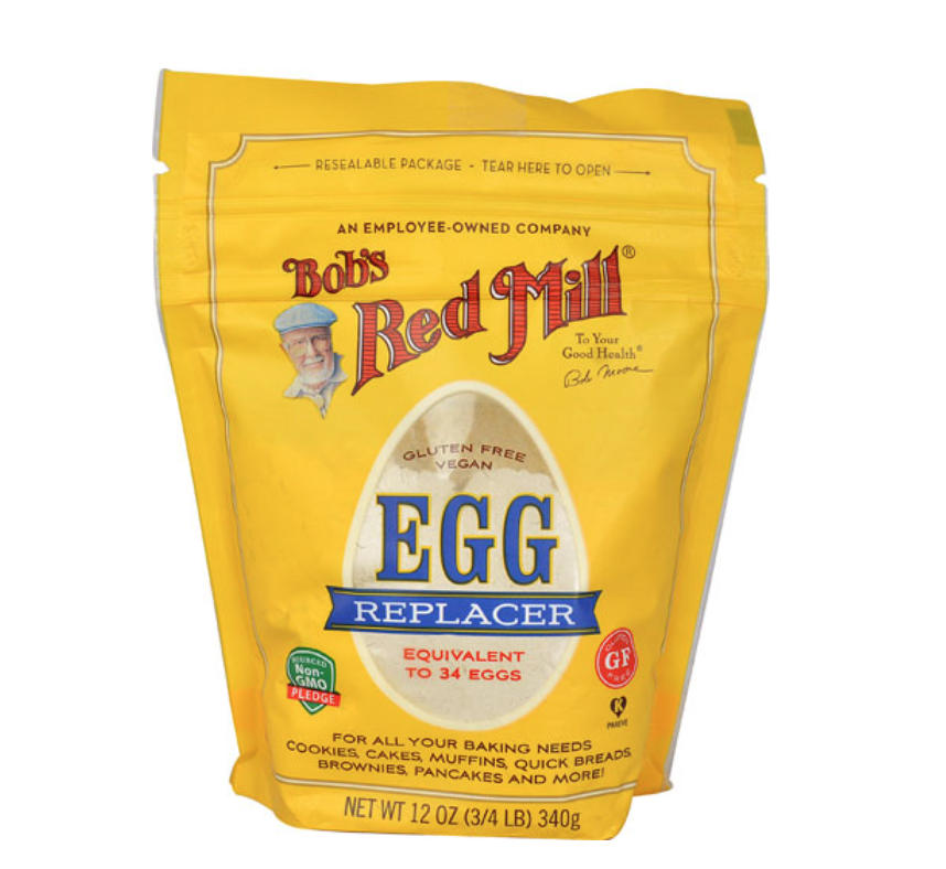 Click here  for a link to purchase pre-made egg replacer