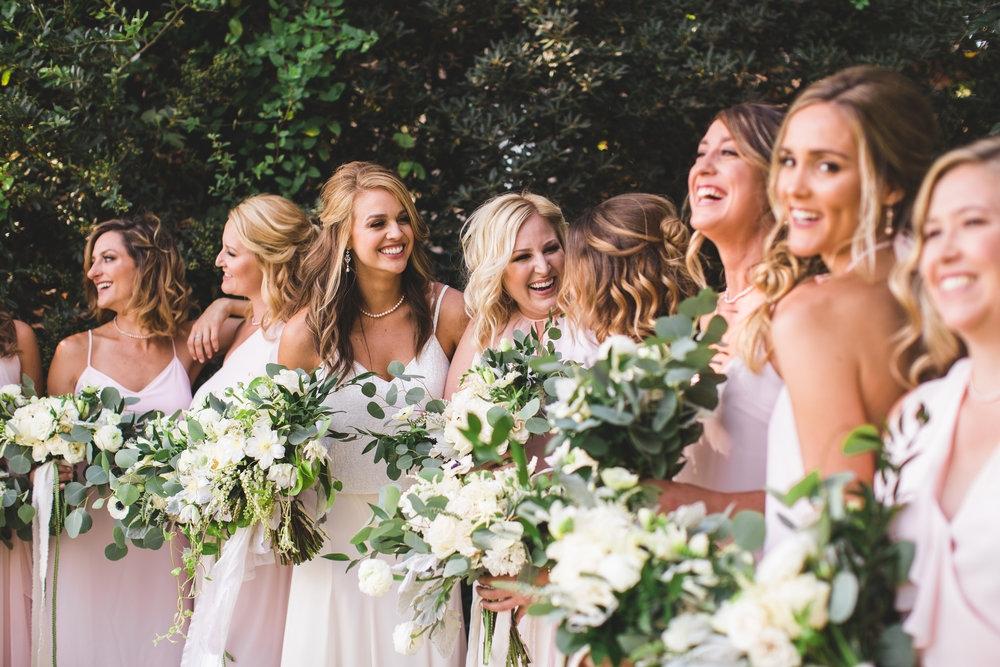 Bride with Bridal Party - $400 minimum