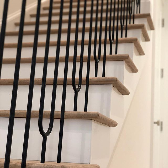 Loving how this custom staircase turned out! Stop by and say Hi at the 2019 Parade of Homes this weekend and next weekend  303 Belle Winds Court  Esplanade Subdivision