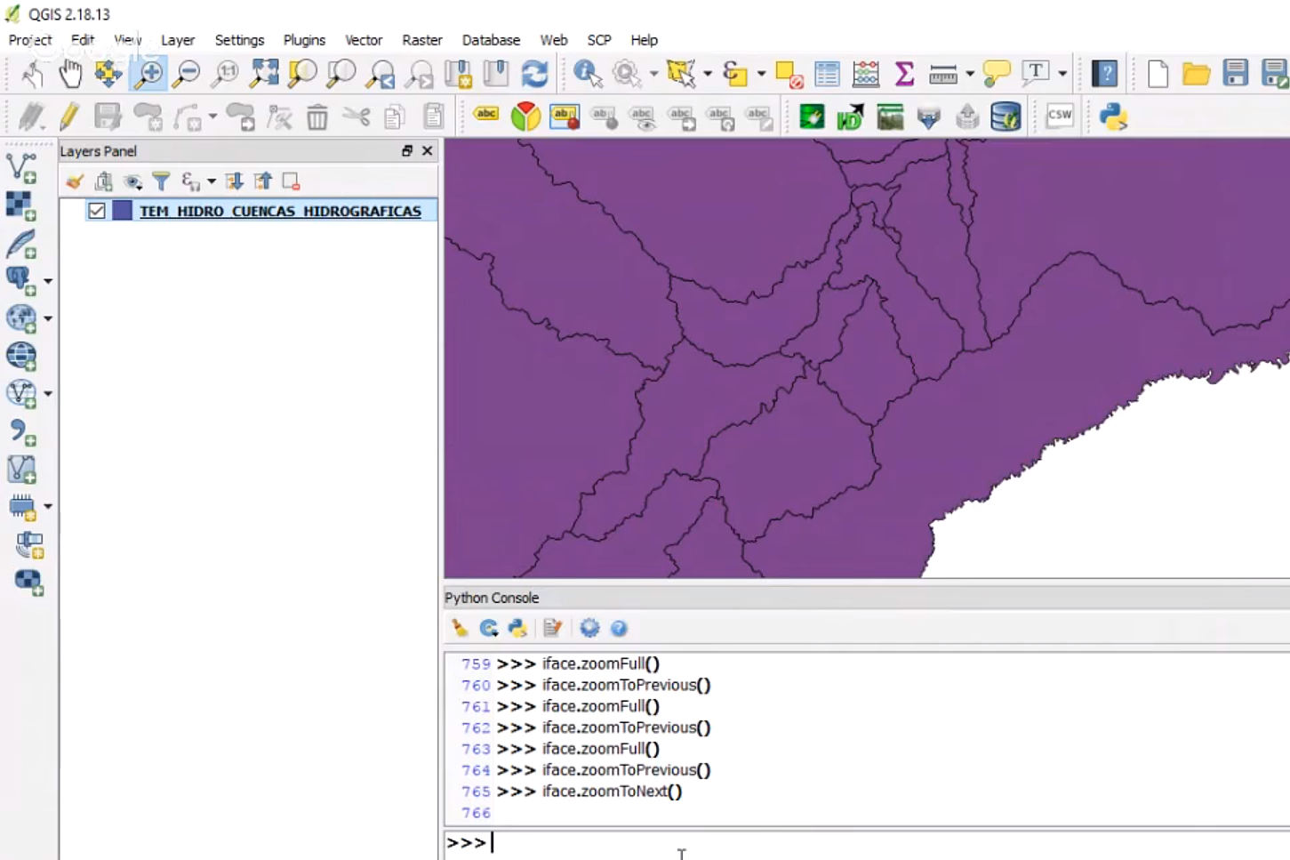 Introduction to PyQGIS, the Python environment in QGIS