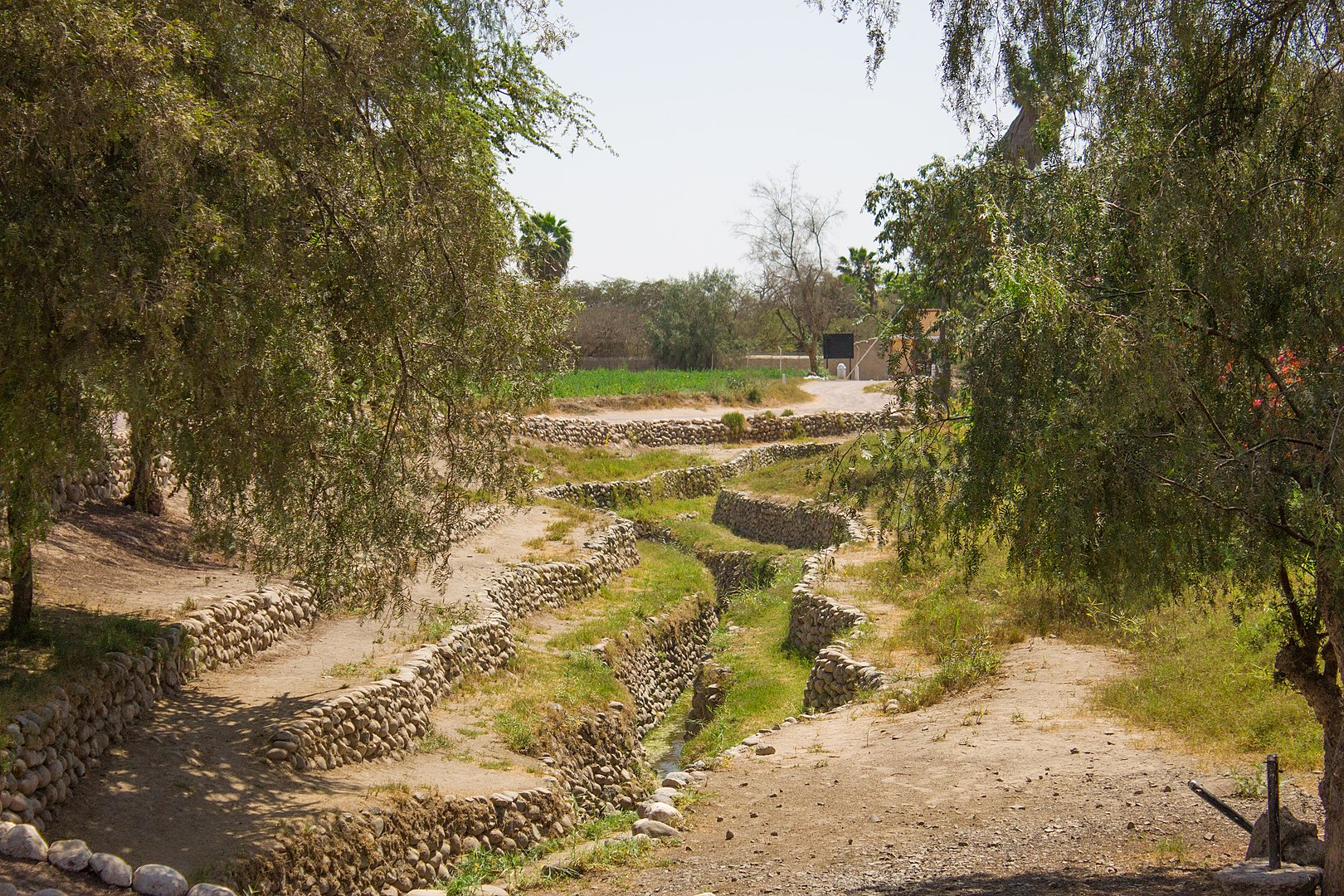 Cantalloc Aqueduct Discharge Channel