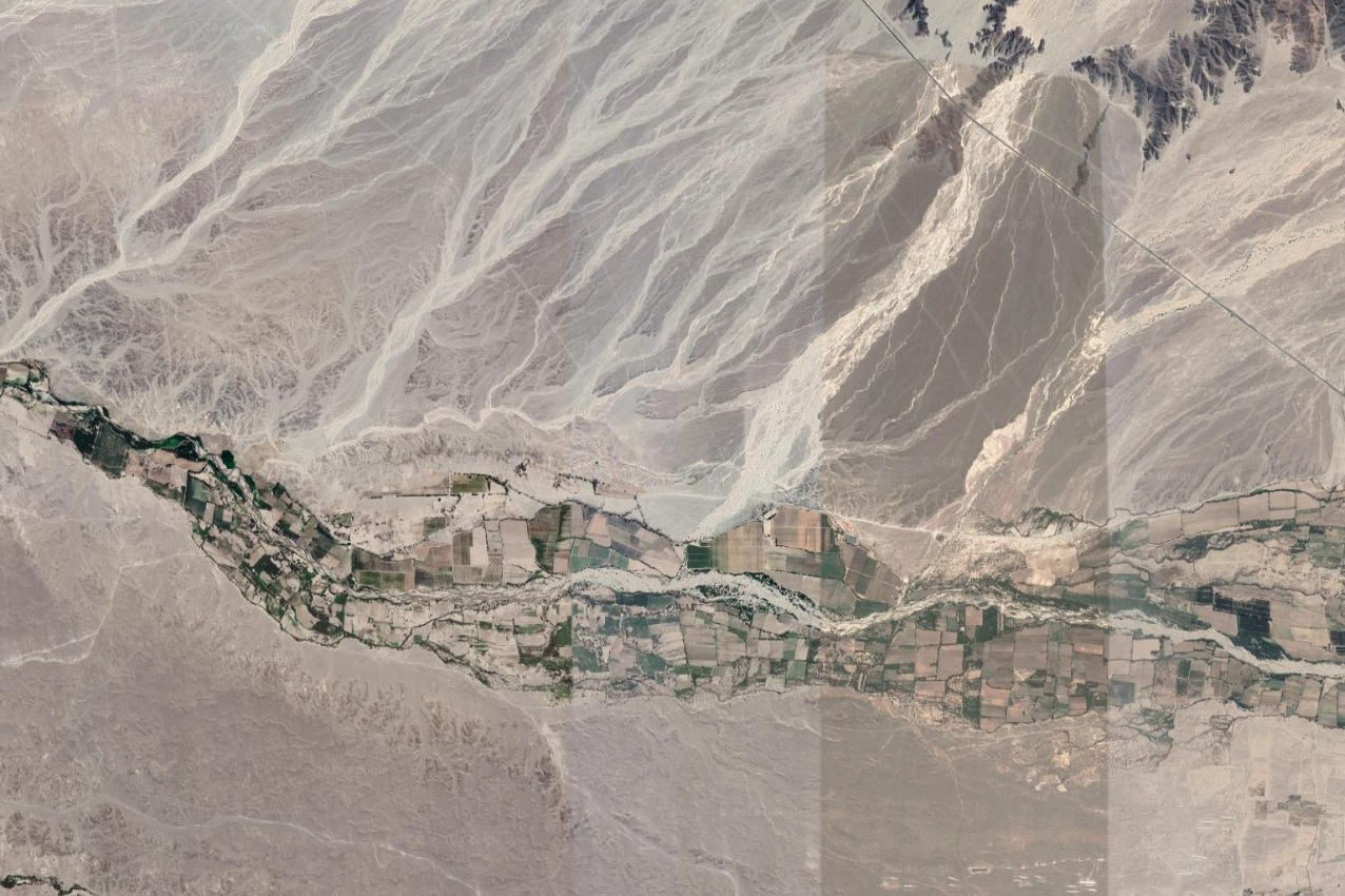 Aerial View of the Nazca Valley