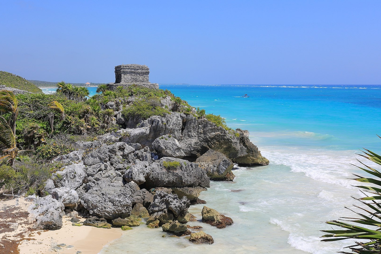God of the Winds Temple, Tulum, Yucatan, Mexico