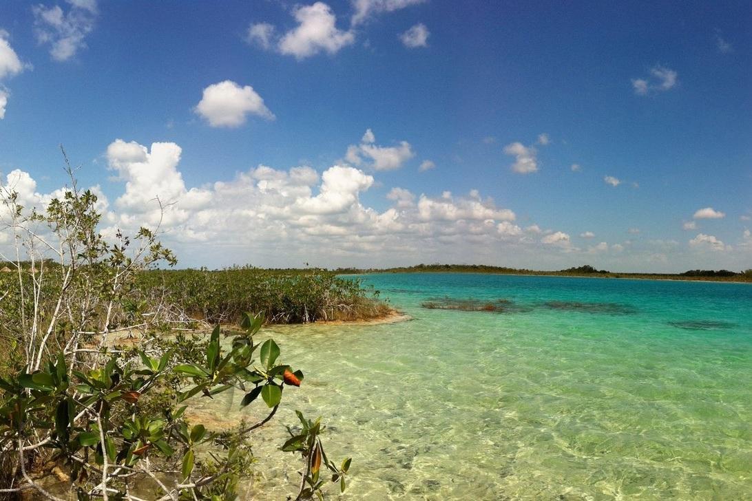 Bacalar Lagoon, Quintana Roo, Mexico