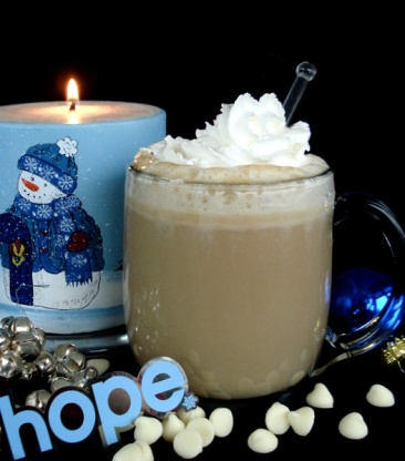 white chocolate coffee holiday drinks sober