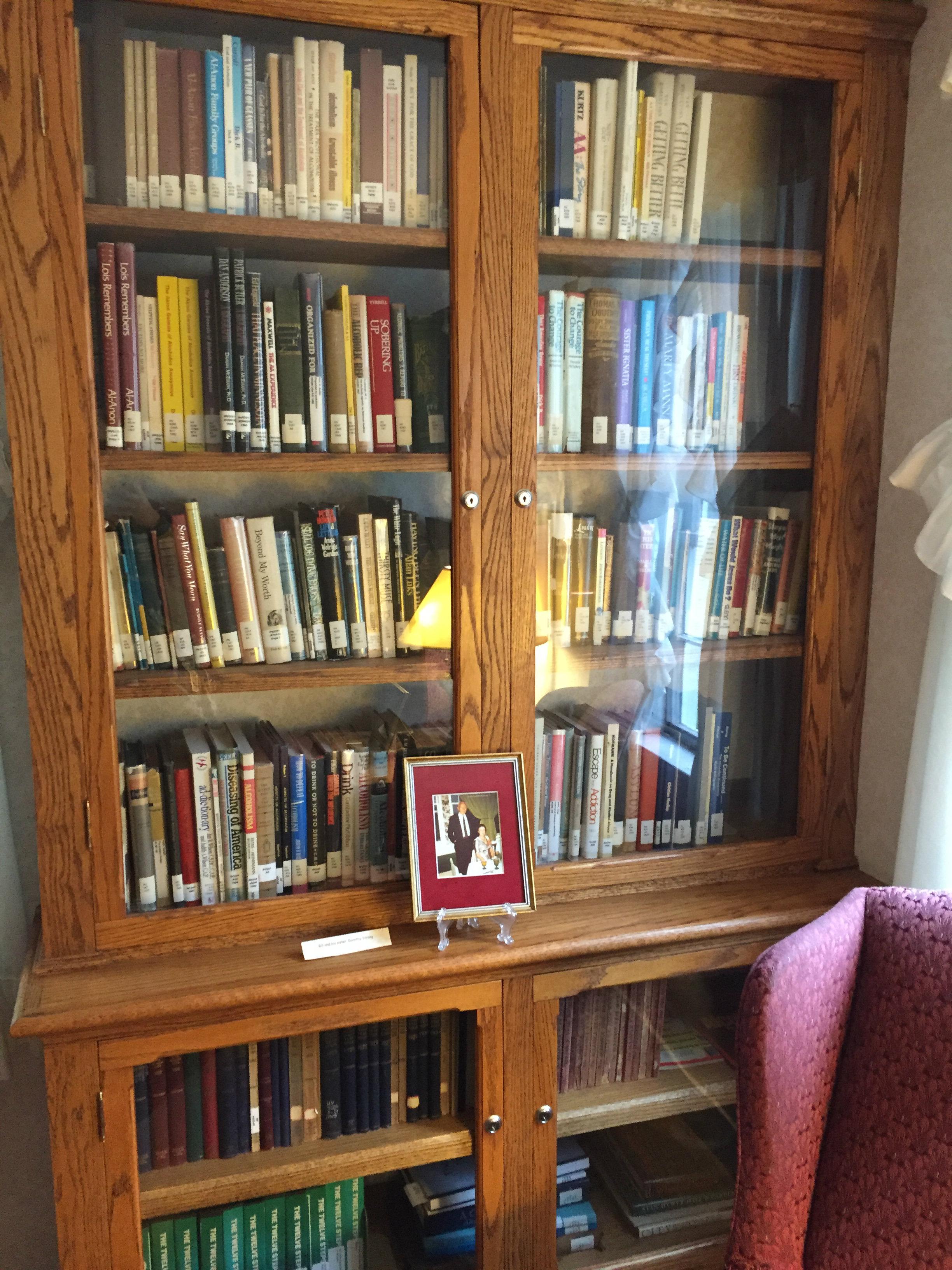 Bill W Dorset, Vermont Library books