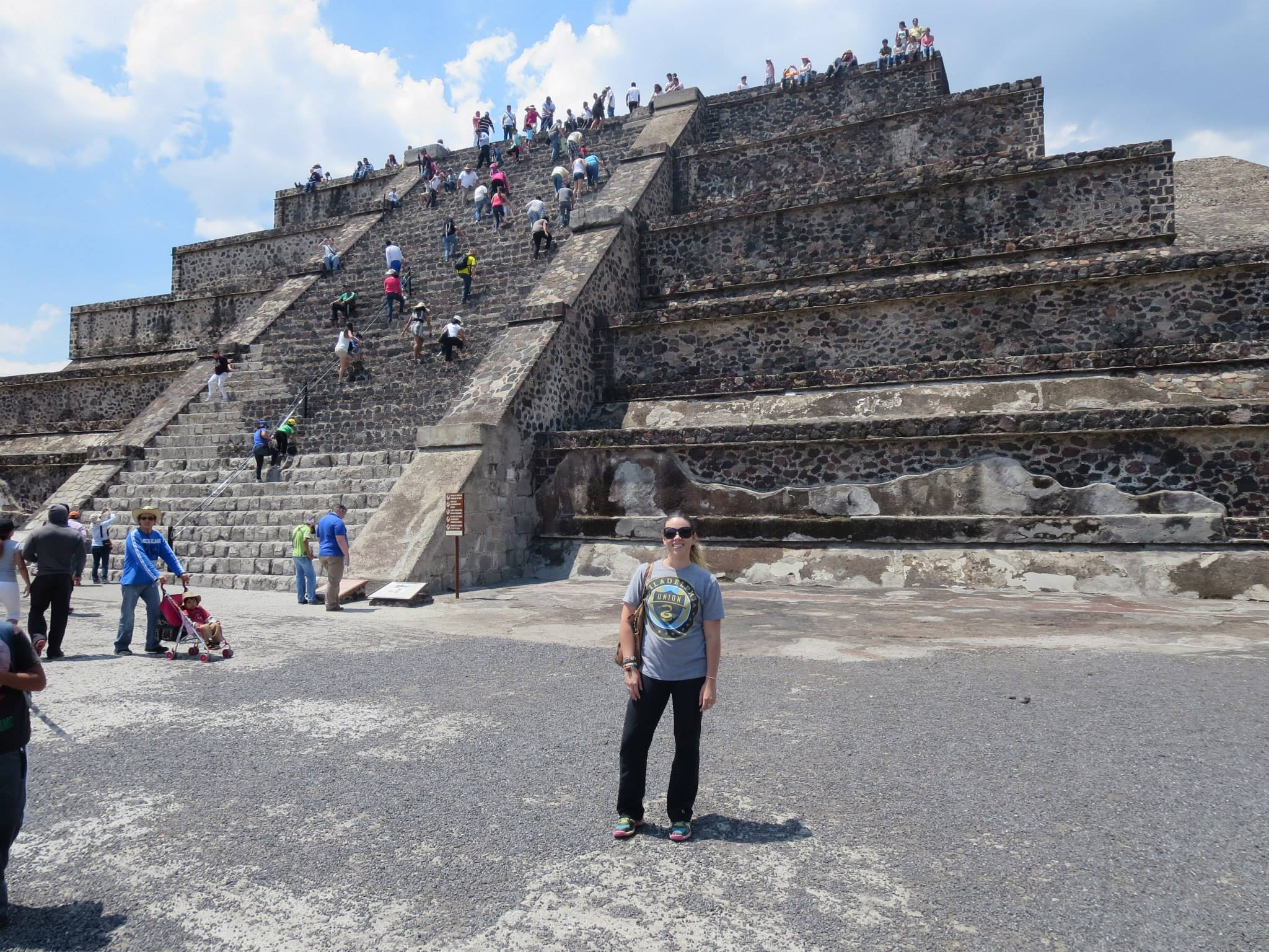 This is me at the Teotihuacan Pyramids in Mexico City, a trip Fer and I took to celebrate my one year sober, just days before I published my viral blog post. I had no idea where life was going to take me.