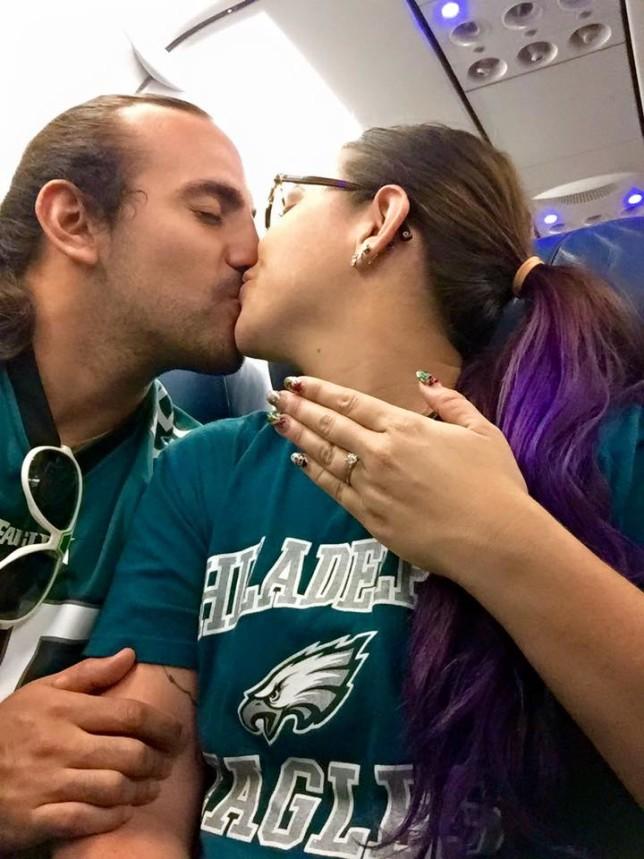 Philadelphia Eagles engagement
