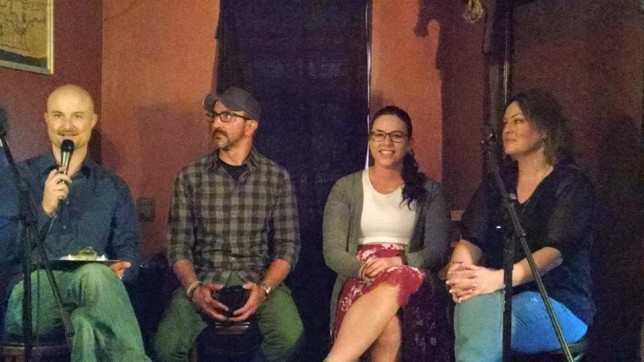 panel discussion storytelling and recovery