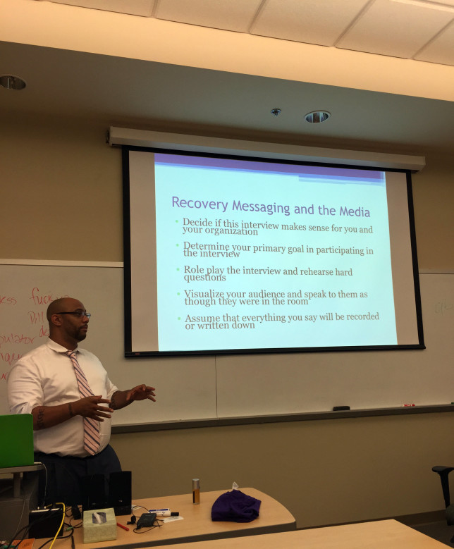 Devin Reaves Recovery Messaging YPR
