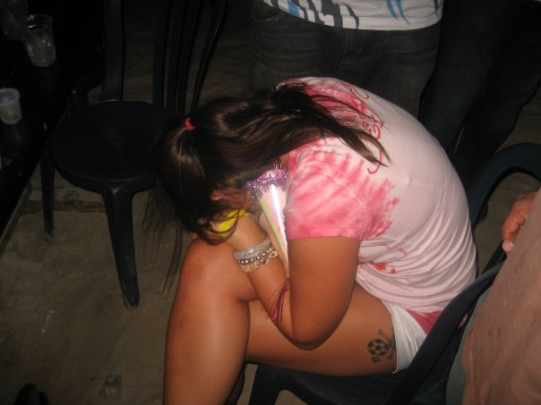 Me on my 23rd birthday blacked out