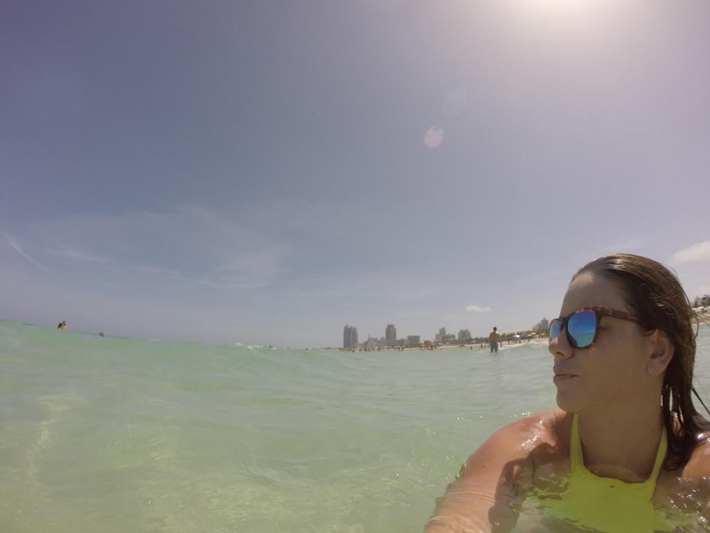 Me in south beach, miami