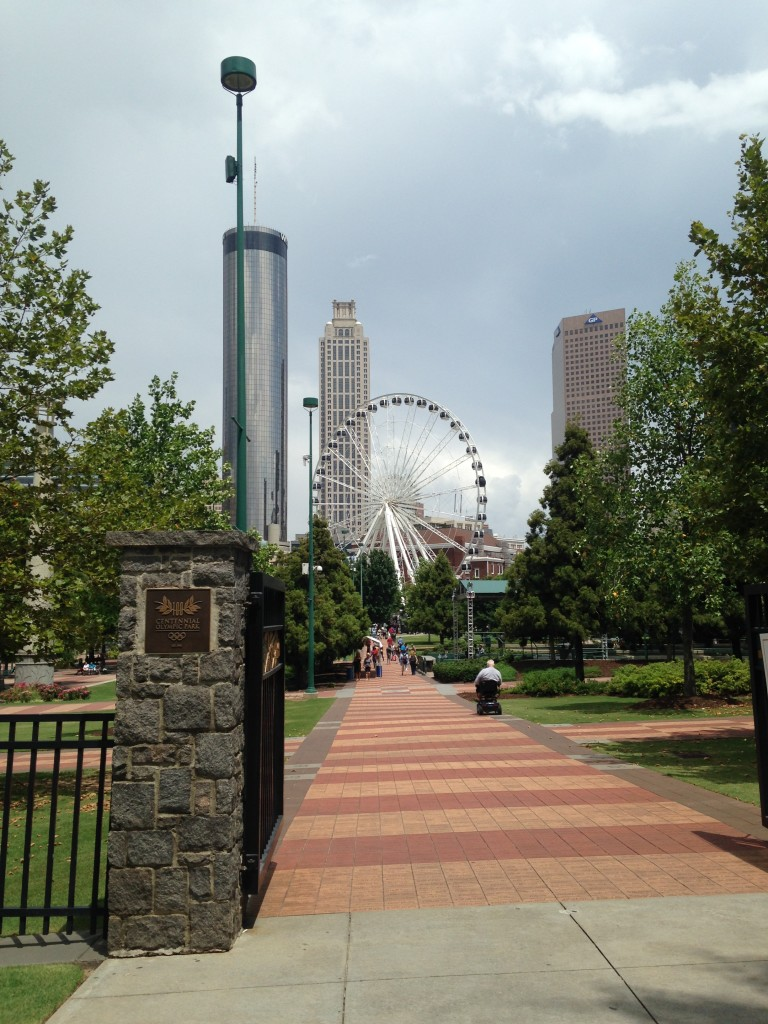 Atlanta Georgia Olympic Centennial Park