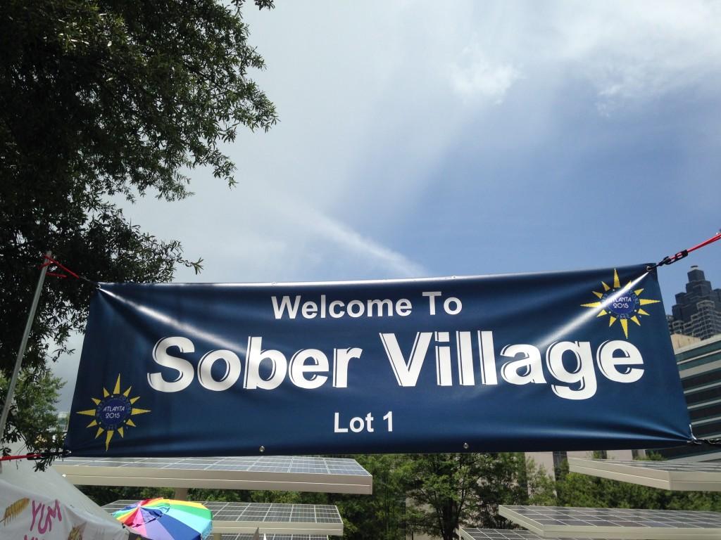 sober village AA international 2015 Atlanta