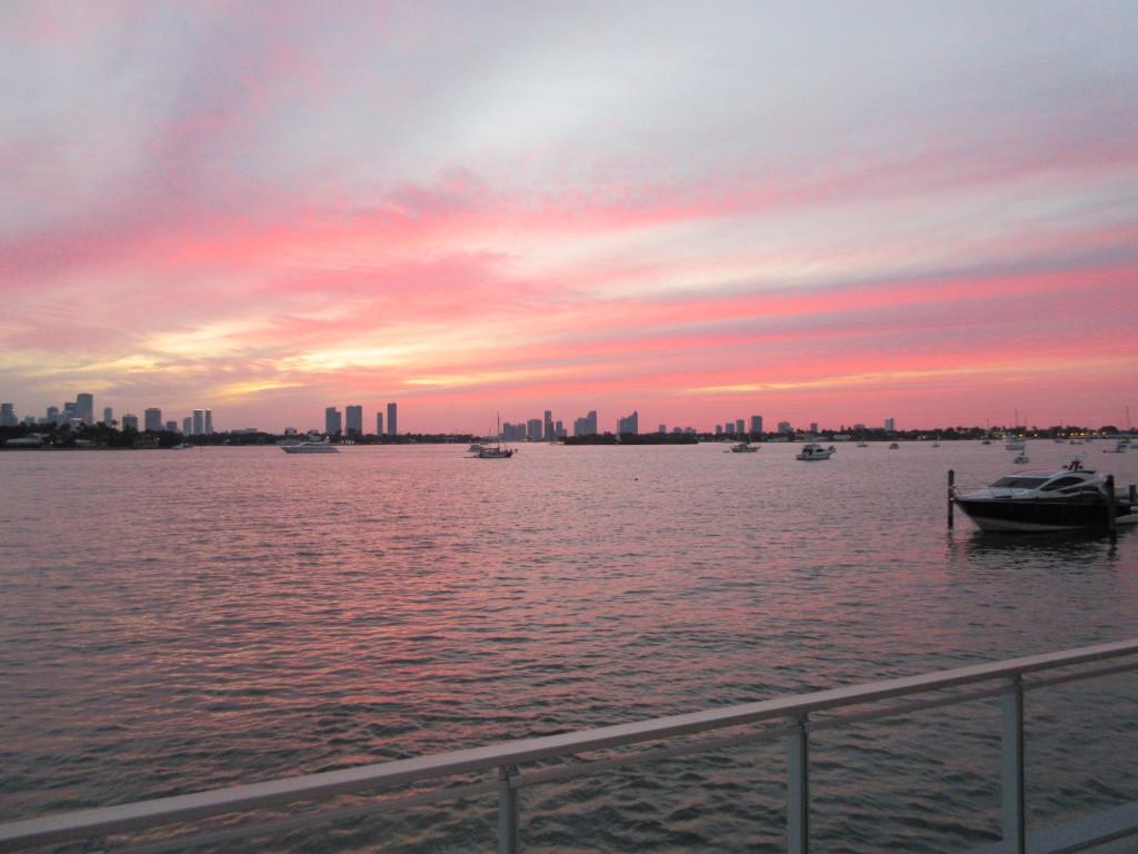 Mondrian Hotel Miami South Beach Sunset