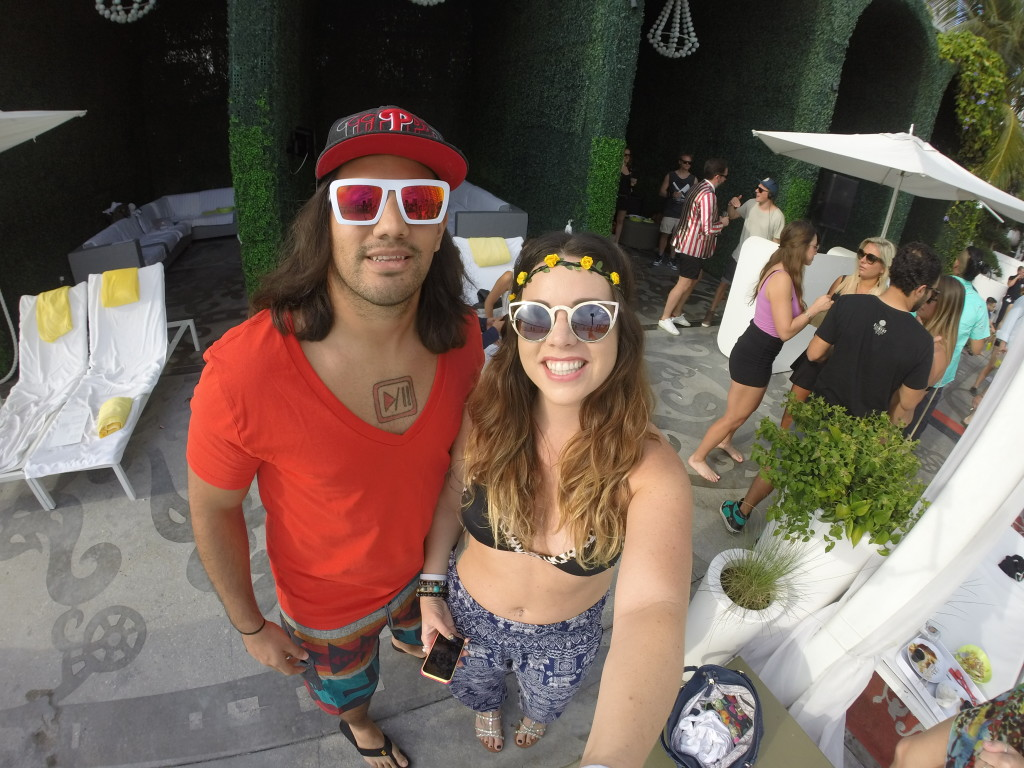 Miami South Beach Winter Music Conference 2015 Pool party