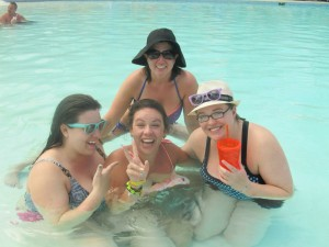 Embarrassing picture of kelly in punta can - her last drinking trip
